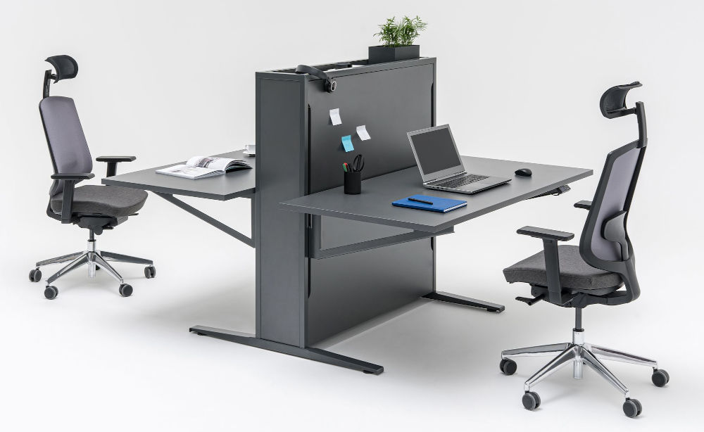 flow sit stand desk